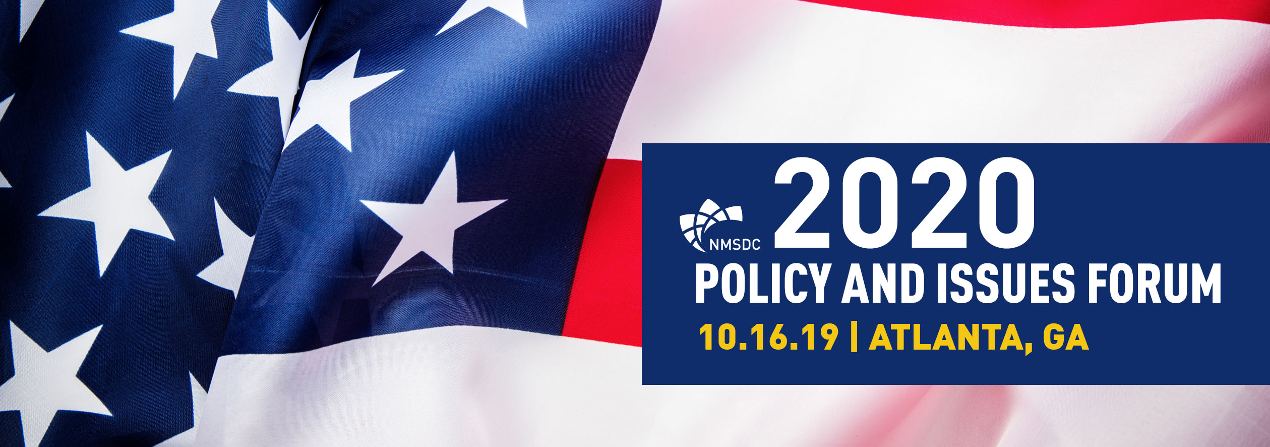 NMSDC 2020 Policy and Issues Forum