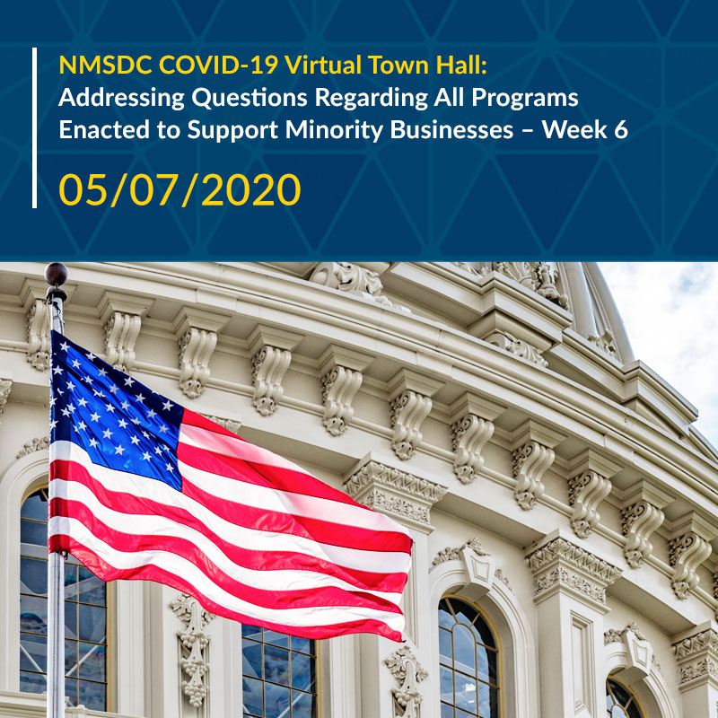 Addressing Questions Regarding All Programs Enacted to Support Minority Businesses – Week 6