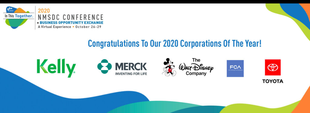 NMSDC 2020 Corporations Of The Year