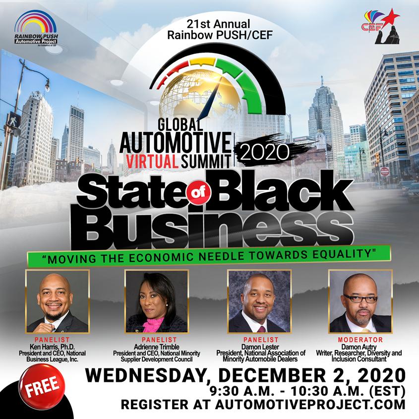 The 21st Annual Rainbow PUSH/CEF Global Automotive Summit