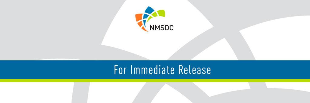 NMSDC Press Release