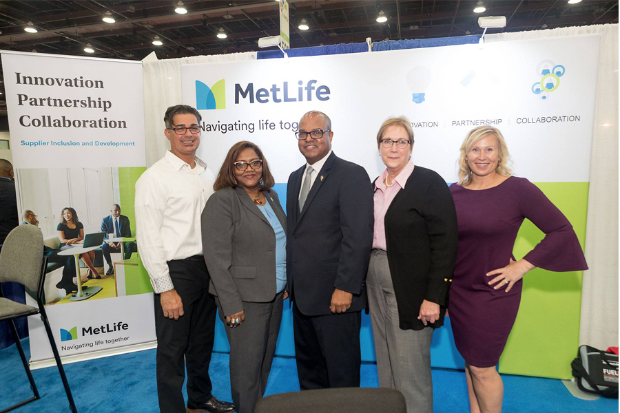 MetLife Booth