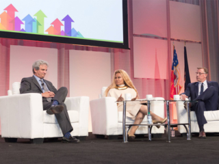 George S. Corona, President and CEO, Kelly Services Janice Bryant Howroyd, CEO, The ACT 1 Group Arnold Sowa. Senior Vice President, MetLife