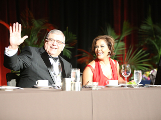 Michele Ruiz at the 2015 NMSDC Awards Banquet