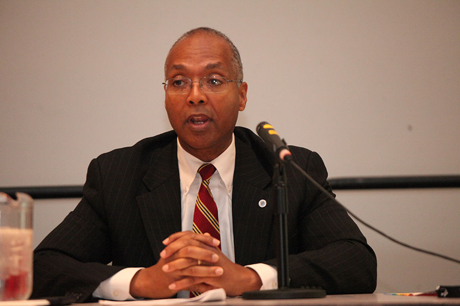 Panelist Reginald Layton at the Achieving Excellence through NMSDC Best Practices Workshop