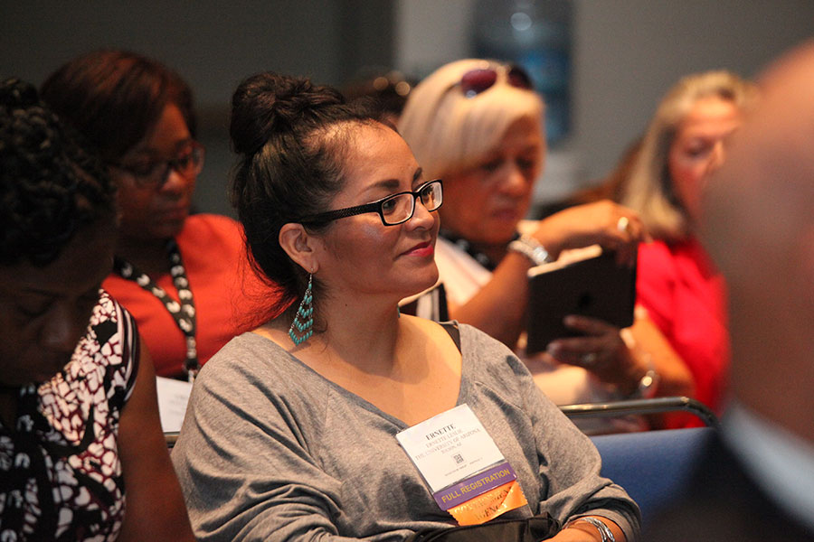 Conference attendees at the Achieving Excellence through NMSDC Best Practices Workshop