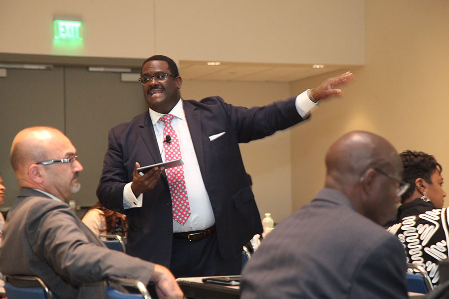 "Joseph C. Black (Aetna) at the ""Leadership DNA: Where Does Leadership Start?"" Workshop"