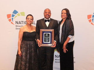 2015 Supplier of the Year (Class I) Awardee Strategic Management Solutions, LLC