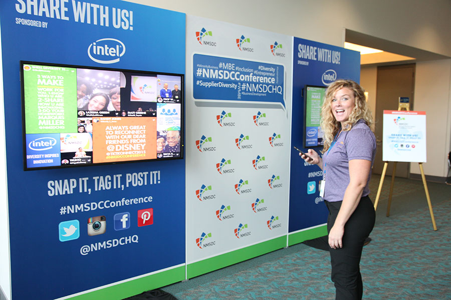 Attendee at the 2015 NMSDC Conference